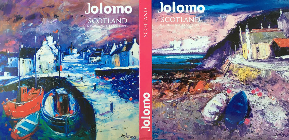 Scotland Note Cards by Jolomo