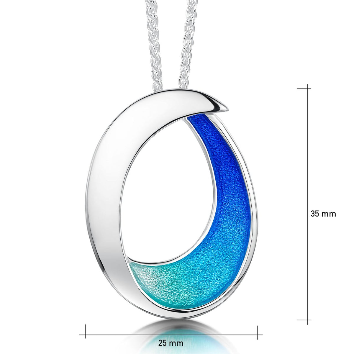 Sea & Surf Pendant by Sheila Fleet
