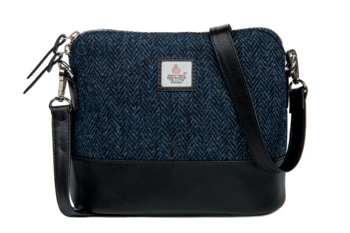 Square Shoulder Bag Blue