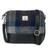 Square Shoulder bag – Blue check
