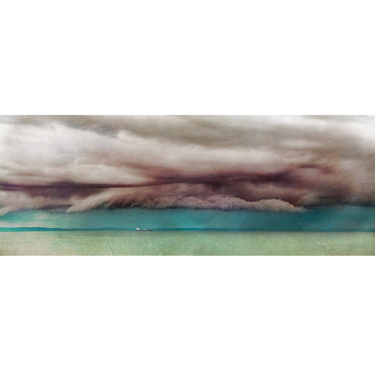 """Strange Day"" The Firth of Forth, Print"