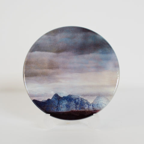 The Cuillins, Isle of Skye, Ceramic Coaster 2