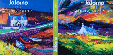 The Scottish Croftscape note cards by Jolomo