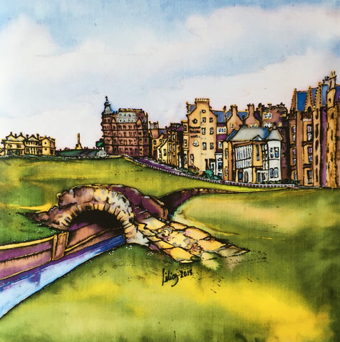 The Swilcan Bridge, The Old Course St Andrews Card