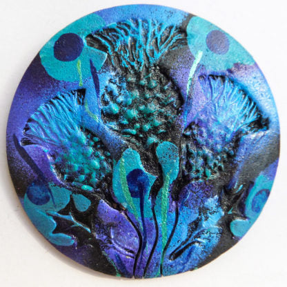 Thistle Wrap Pins