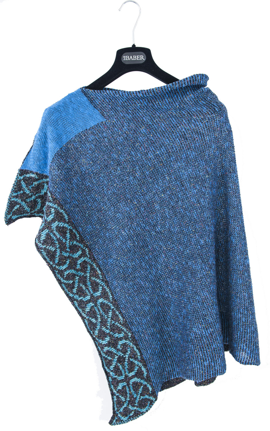 Wallace Shawl in Ocean 2
