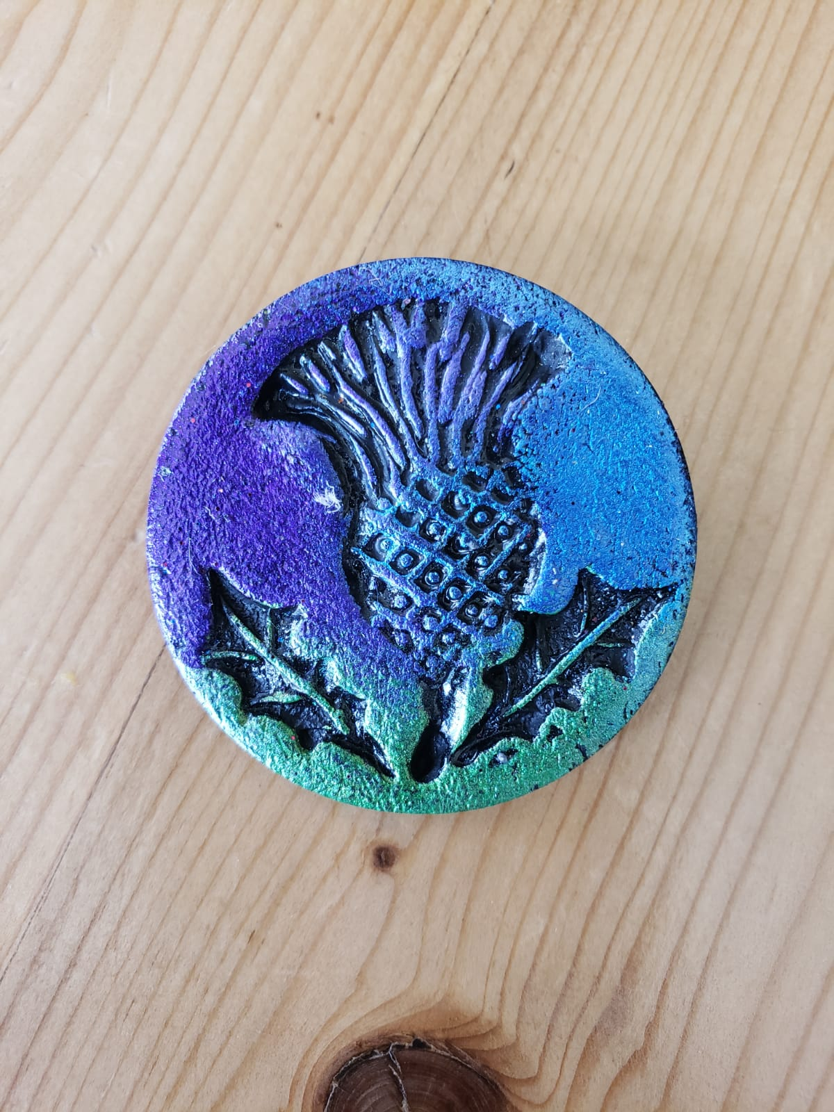 Wee Thistle Pin Brooch
