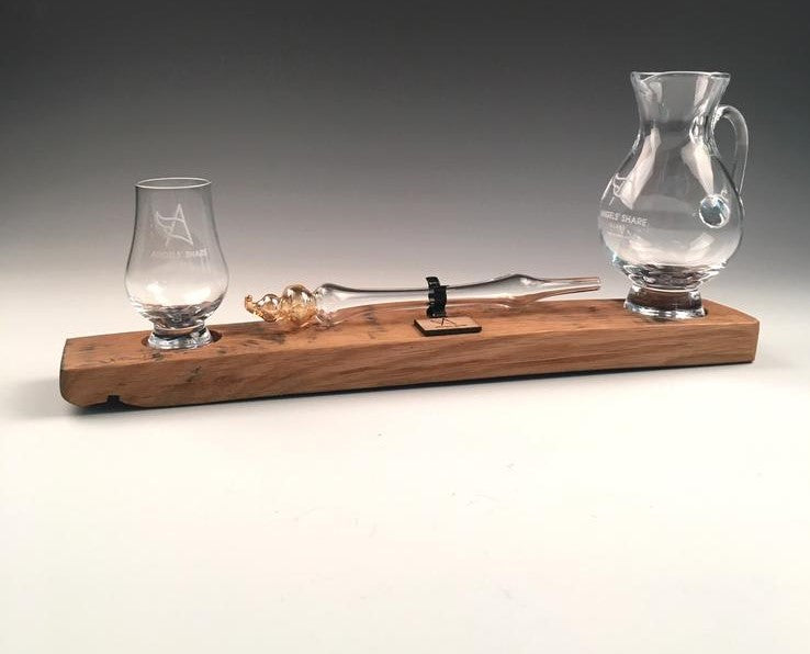 Whisky set with mini Glencairn and dropper