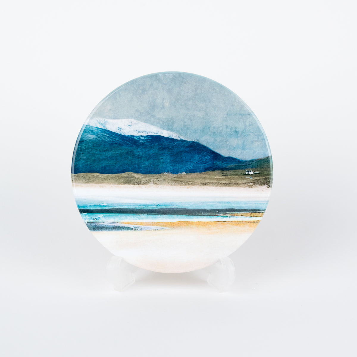 Winter Luskentyre Ceramic Coaster