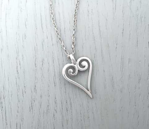 Viking Heart Necklace