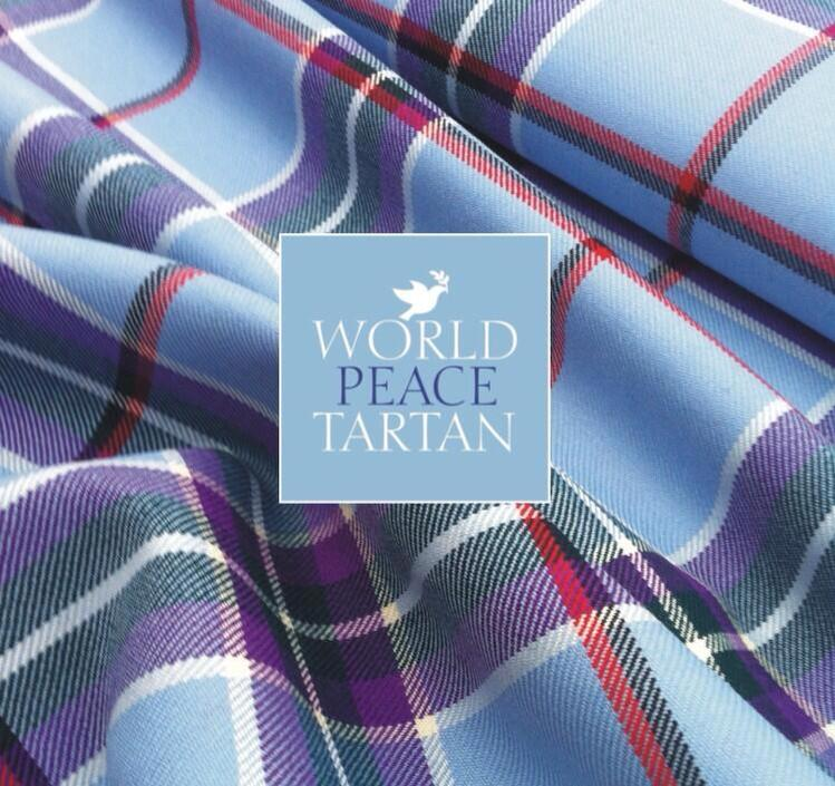 World Peace Tartan Stole