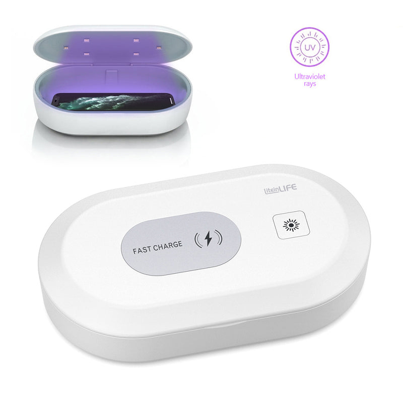 Liteinlife UV Phone Sanitizer Box Sterilizer Light