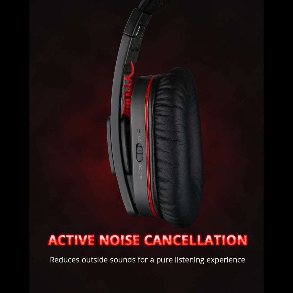 iDeaPlay V207 Active Noise Cancelling Bluetooth Headphone - ideaelectronics