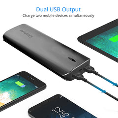 Power Bank, iDeaPlay B160 15600 mAh battery, with Dual USB Ports, Smart charging technology