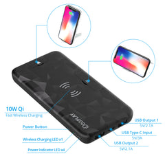 iDeaPLAY QS100 Wireless Charger 2 Pack