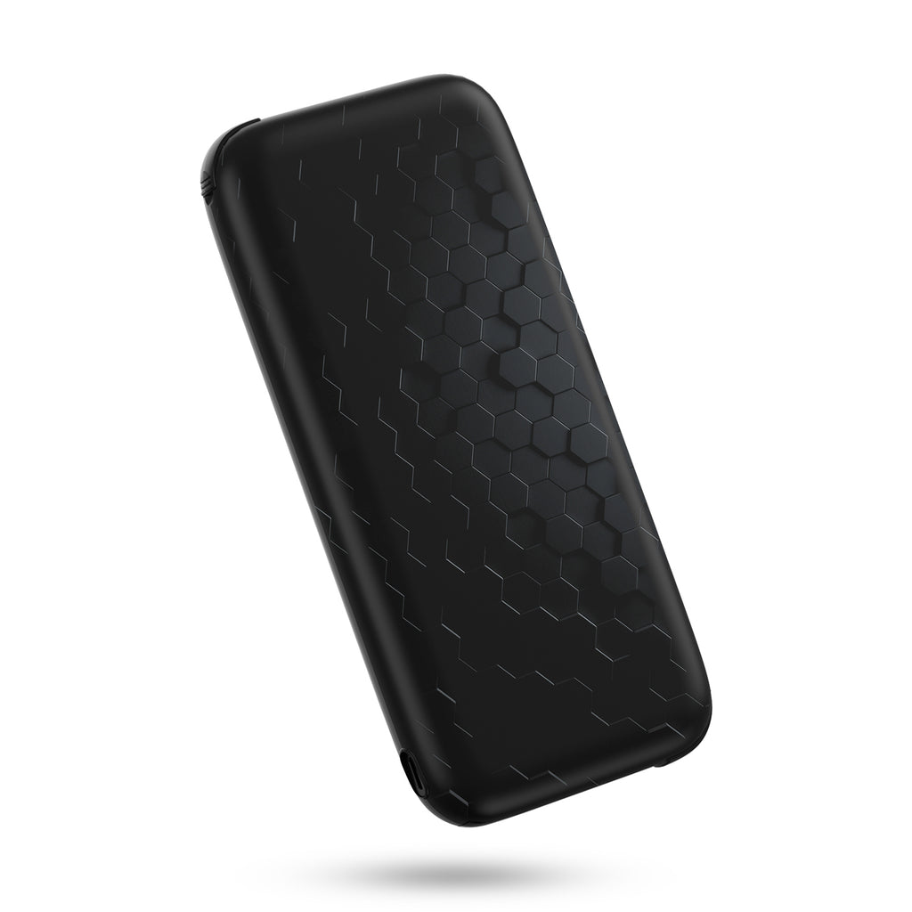 iDeaPlay Q100P 10,000 mAh Wireless Portable Charger with Built-in Cables - ideaelectronics
