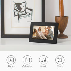 iDeaPlay DF701 7 inch WiFi Digital Photo Frame