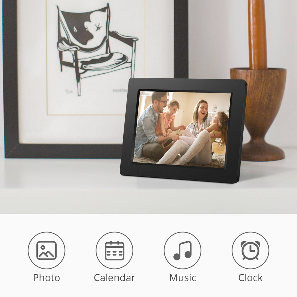 iDeaPlay DF801 7.85 inch WiFi Digital Photo Frame - ideaelectronics