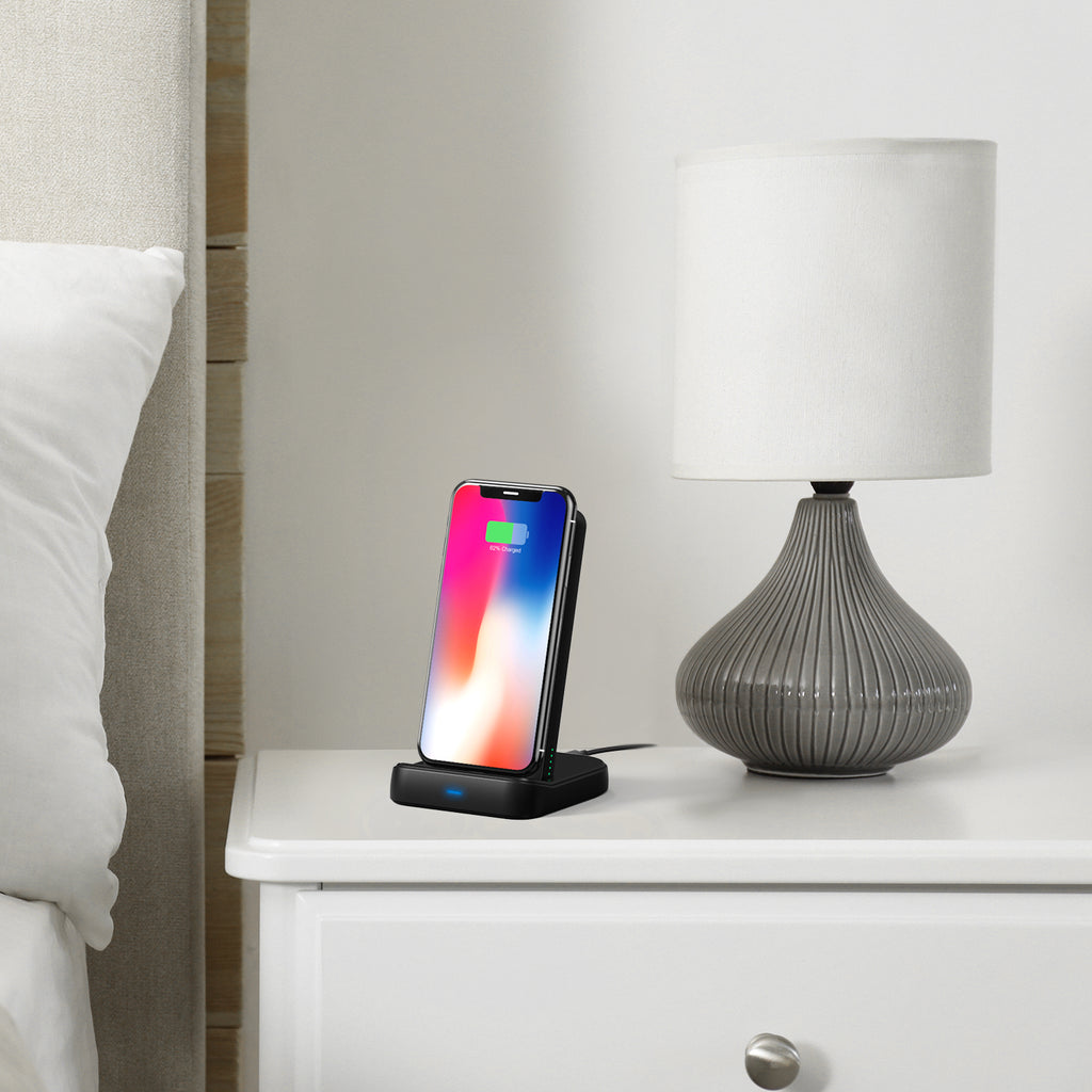 iDeaPLAY Q100D 10,000 mAh Wireless Charger and Power Bank - ideaelectronics