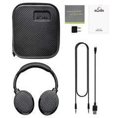 iDeaUSA V201 Wireless Noise Canceling Bluetooth Headphones Over-Ear with Mic