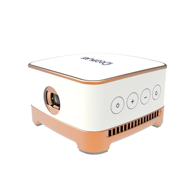 iDeaPlay Android 7.1 Wireless Mini Smart Projector Built-In Speaker & TF slot