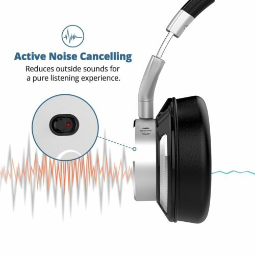 iDeaUSA V200 Active Noise Cancelling ANC HiFi Sound Wireless Bluetooth Headphone - ideaelectronics