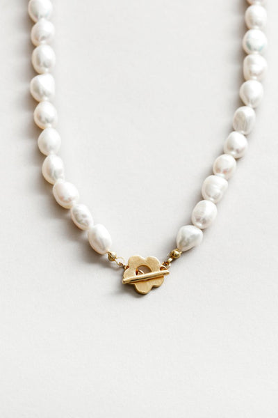 Wolf Circus Lola Pearl Necklace / Gold