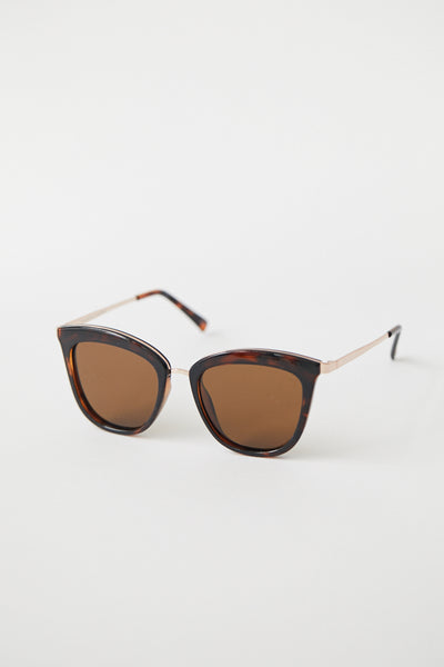 Caliente Sunglasses / Tort Rose Gold