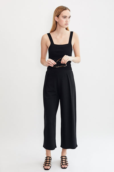 Jojo Pleat Pant / Black