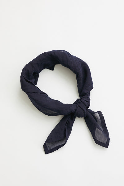 Scarf Shop Neckscarf / Black Blue