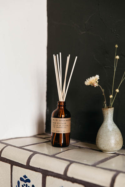 P.F. Candle Co. Sandalwood Rose Reed Diffuser Parc Shop