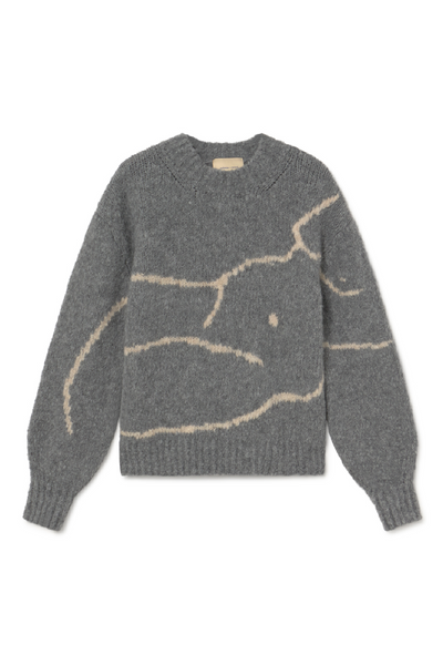 Paloma Wool Palmira Sweater / Dark Grey Parc Shop