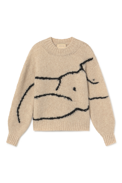 Paloma Wool Palmira Sweater / Ecru Parc Shop