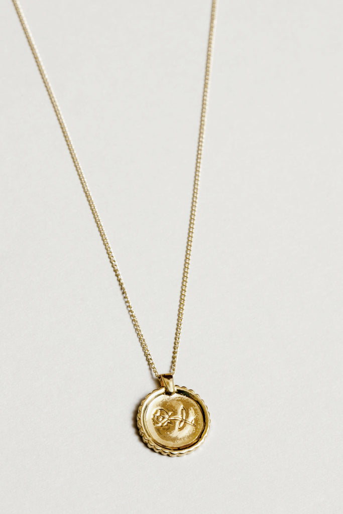 Wolf Circus Rosie Necklace / Gold - Parc Shop