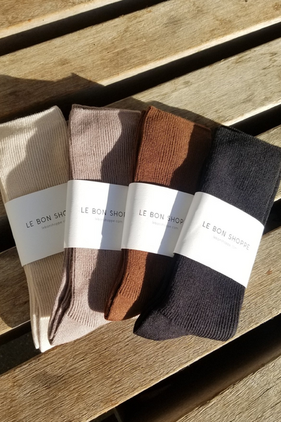 Le Bon Shoppe Trouser Socks / Black Parc Shop
