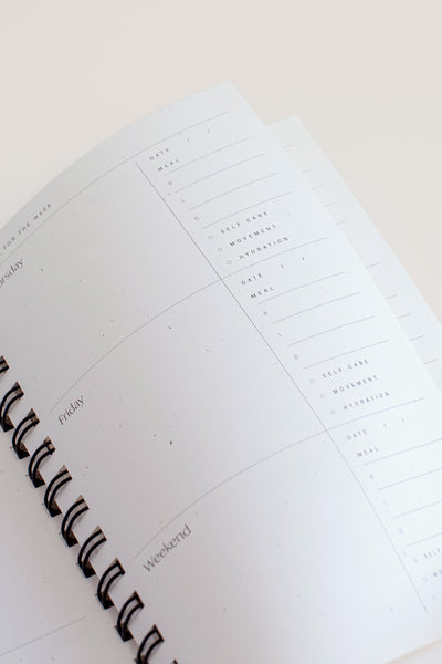 Wilde House Paper Daydreams Weekly Planner / Bianco Parc Shop
