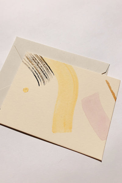 Modern Painted Notecard Set