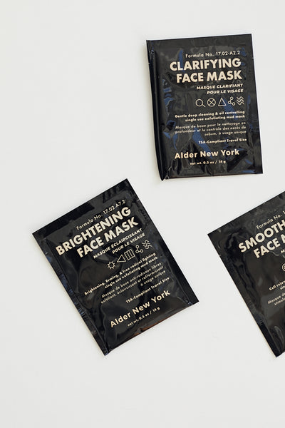 Alder New York Brightening Face Mask / Single Use