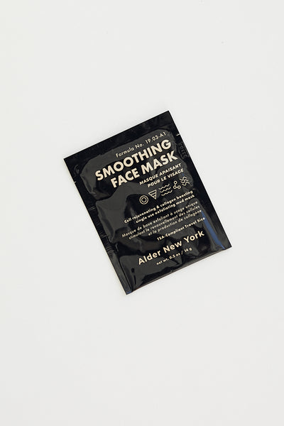 Alder New York Smoothing Face Mask / Single Use
