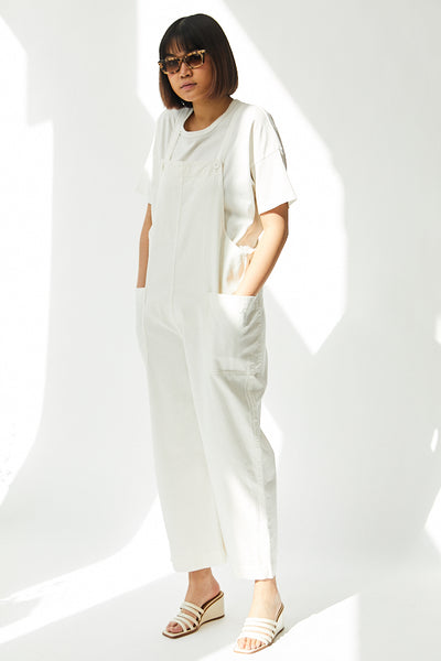 Ali Golden Overall Jumper / Bone Parc Shop