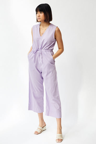 Ali Golden Slit Back Jumper / Lilac Parc Shop