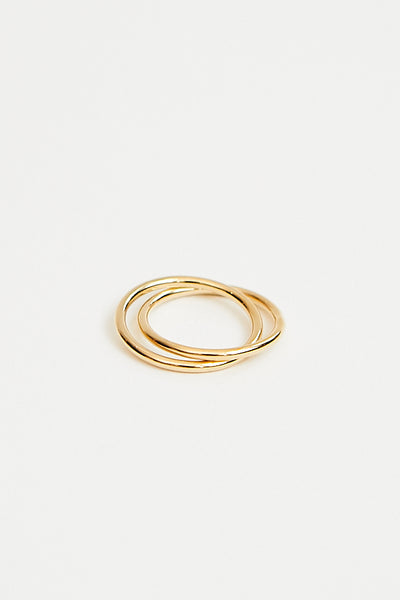 Baleen Kindred Ring in gold - Parc Shop