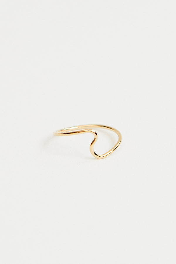 Baleen Swell Ring / Gold Parc Shop