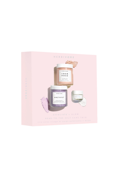 Herbivore Botanicals Exfoliate + Glow Holiday Kit Parc Shop