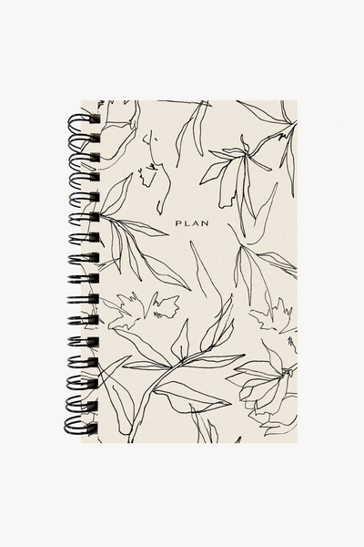 Wilde House Paper Flora Weekly Planner Parc Shop