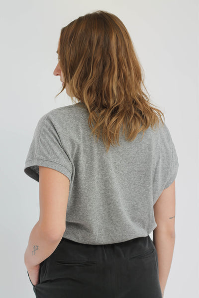 Le Bon Shoppe Ease Tee Boyfriend Tee Heather Grey - Parc Shop