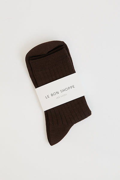 Her Socks (MC Cotton) / Coffee