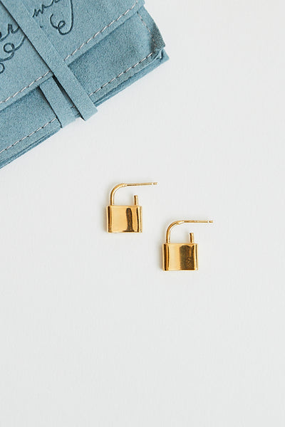 Merewif Holmes Earrings / Gold Parc Shop