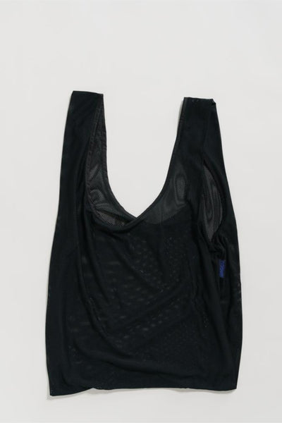 Mesh Baggu Black Market Bag Farmers Market Produce Bag - Parc Shop