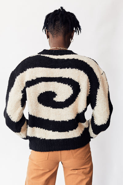 Paloma Wool Twister Sweater / Black Parc Shop
